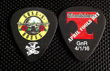 "Guns n' Roses - SLASH - ""April Fools"" Guitar Pick - Troubadour Show"