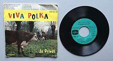 Ref587 Vinyle 45 Tours Jo Privat Viva Polka