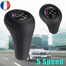 Pommeau de levier 5 vitesses en cuir pour BMW E30 E32 E34 E36 E38 E39 E46 etc.