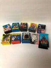 1970s 50 Wax Packs Alien Rocky Superman A team Mork Fright Flick Gremlins & More