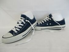 CONVERSE All Star Chuck Taylor Low Top Trainers, Blue, Size UK 7.5, Eur 41