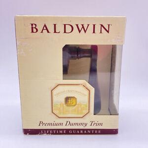 Baldwin Wave Lever Oil Rubbed  Bronze 95455.402.LDM Left Dummy Trim