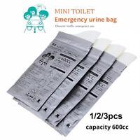 pour urinoir Toilettes mobiles Sac de pisse pour automobile Sac à vomi