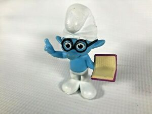2013 Smurf McDonalds Brainy Happy Meal Toy