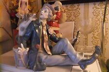 Lladro Clown With Dog & Flute 'Musical Partners' 5763