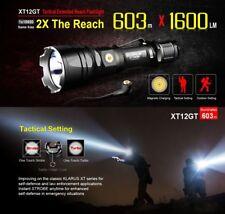 Klarus xt12gt LED Linterna antorcha lámpara 1600 lúmenes + batería USB holster, entre otros,