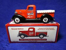 1937 Chevy Pickup With Tonneau Cover Sentry Hardware Bank 1:25