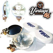 VINTAGE Warehouse 65 Classic Wipac Chrome PROIETTORI FENDINEBBIA
