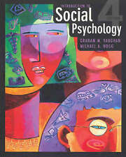 Introduction to Social Psychology by Graham M. Vaughan. Very Good Condition.