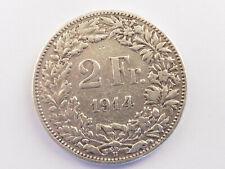 L1480     SCHWEIZ 2,- Franken 1914