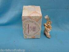 Enesco Calico Kittens #543489 Kitten in a Shoe 1999 Cat Christmas Ornament