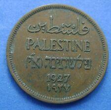 Palestine - Palestina 1 Mil one Mil 1927 - KM# 1