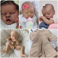 "21/"" Lifelike Baby Doll Monkey Mould Unpainted Silicone Kits Reborn Kits Supplies"