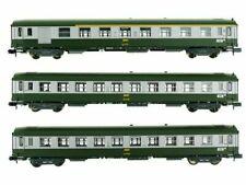 Voitures de voyageurs Minitrix pour modélisme ferroviaire à l'échelle N