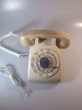 VINTAGE ATT DESK ROTARY DIAL TELEPHONE, WORKS !