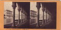 Venezia Palais Vendramin Italia Stereo Vintage Albumina Ca 1865