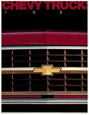 1989 Chevrolet Truck/Van/SUV Brochure/Catalog Pickup Blazer Suburban-70 pages