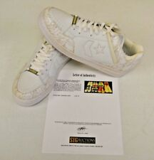 Converse Weapon White Basketball sz 14 DWAYNE WADE Personal Owned Shoes COA #11
