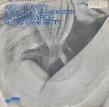 7inch ART BLAKEY & THE JAZZ MESSENGERSblues marchBLUE NOTE EX/VG  (S0294)