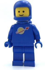 LEGO CLASSIC BLUE SPACE MAN MINIFIGURE ASTRONAUT VINTAGE FIG *MINT*