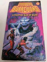 BOOK - Martian Tales Of Rice Burroughs #7 Fighting Man Of Mars PB Del Rey 1980