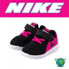 Nike Toddler Size 8C Flex Experience 5 (TDV) Shoes 844993 Black/Pink/White
