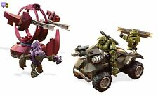Mega Bloks Construx Figure Halo UNSC Gungoose Rampage Building Set New Action