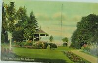 .RARE DAYLESFORD , THE LAWN WOMBAT HILL VICTORIA EARLY 1900'S POSTCARD