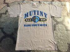 Tampa Bay Mutiny Gray Shirt Adult Medium Vintage 2000