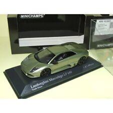 Lamborghini Murcielago Lp640 Green Metallic Die Cast 1 43 Minichamps 400103921 R