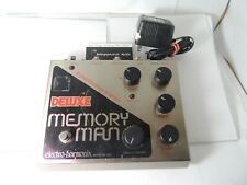 Electro Harmonix Deluxe Memory Man Echo/Delay Effects Pedal w/24-Volt Adapter