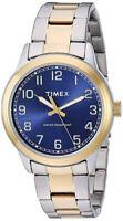 Timex Men's Analog Quartz Two Tone Stainless Steel Watch TW2R366