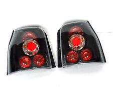 VW LUPO / SEAT AROSA 98-02 REAR LAMPS TAIL LIGHTS BLACK SMOKED LEXUS STYLE SET