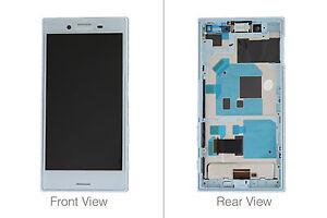 Genuine Sony Xperia X Compact F5321 Blue LCD & Digitizer - 1304-1872