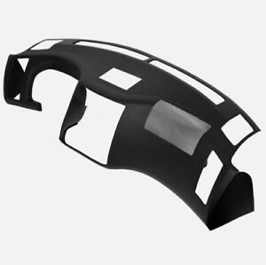 For 2006 2007 2008 Infiniti FX35 Black Painted Dash Cover Dash Cap w/ Glue