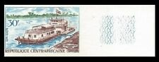 Central Africa Rep 1968 Imperf River Boats set Sc# 110/C63 NH