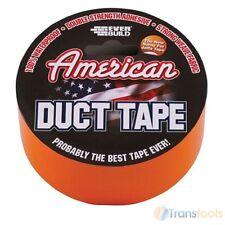 Jaffa Gaffa Heavy Duty American Duct Tape 50mm x 5 Metres Waterproof Orange