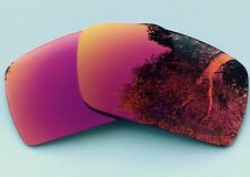 ENGRAVED POLARIZED POSITIVE RED MIRRORED REPLACEMENT OAKLEY GASCAN S LENSES