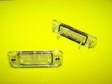 2 Kennzeichenleuchte MERCEDES BENZ A Klasse W 168 Nummernschildbeleuchtung Kappe