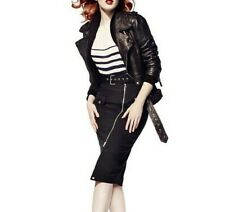 Jean Paul Gaultier for Lindex Pen skirt size Eur 42 UK 14 US 12