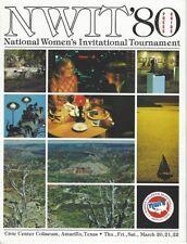 1980 National Women's College Basketball Invitational Tournament Media Guide
