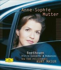 Anne-Sophie Mutter New York...-Beethoven: Violin Concerto; Romances CD NEW