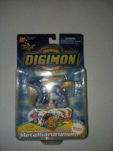 Action Feature MetalGarurumon Digimon Digital Monsters MIP 2000 Bandai