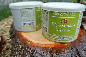 2 x Bierschinken à 185g in der Dose - Metzgerei Winterhalter Elzach Schwarzwald