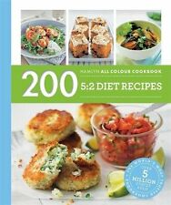 200 5 2 Diet Recipes Cook Book Healthy Eating Weight Loss Nutrition Lean Fitness