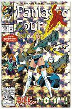 Fantastic Four 375 Signed Tom DeFalco Autographed Doctor Doom Inhumans Prism
