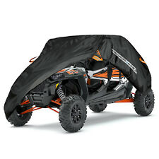 Double Row Seat Cover Utility Vehicle Storage Fit Polaris Rzr Xp 4 Turbo S4 1000