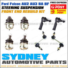 Falcon AU 2 3 BA BF Front Upper Lower Ball Joint, Sway bar Link, Tie Rod End Kit