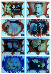 2003 Inkworks Buffy the Vampire Slayer Connections Silver Parallel Card You Pick