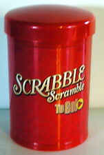 2006 SCRABBLE SCRAMBLE TO GO take-a-long board game MINT family fun
